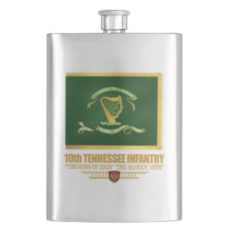 10th Tennessee Infantry Flask