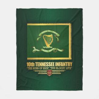 10th Tennessee Infantry Fleece Blanket