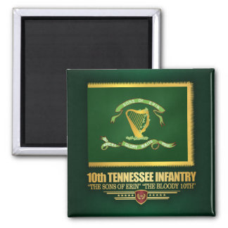 10th Tennessee Infantry Magnet