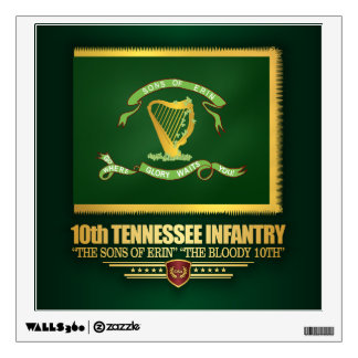10th Tennessee Infantry Wall Sticker