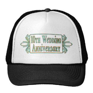 10th wedding anniversary 3t trucker hat