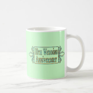 10th Wedding Anniversary Gifts Coffee Mug