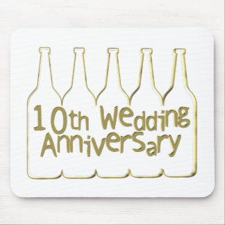 10th wedding anniversary ht mouse pad