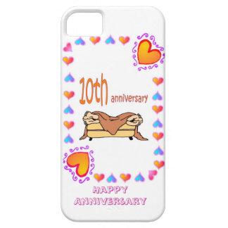 10th wedding anniversary, iPhone SE/5/5s case