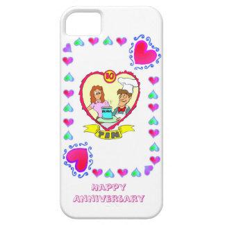 10th wedding anniversary, tin iPhone SE/5/5s case