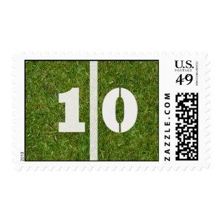 10th Yard Football Postage