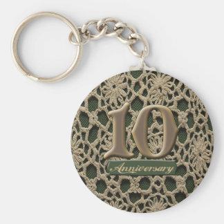 10thanniversary4 llavero redondo tipo pin