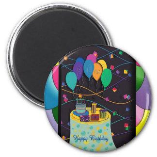 10thsurprisepartyyinvitationballoons copy 2 inch round magnet
