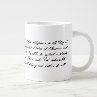 10tshirts.com Customizable 20oz Mug Pledge of USA