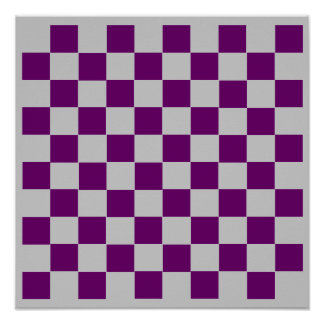 "10x10 Checkers TAG Board (1-1/4"" fridge magnets) Posters"