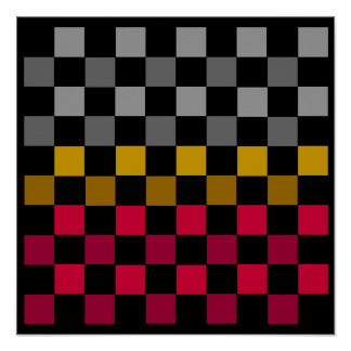 "10x10 Checkers TAG Board (1-1/4"" fridge magnets) Print"