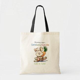 10x10-some-bunny tote bag