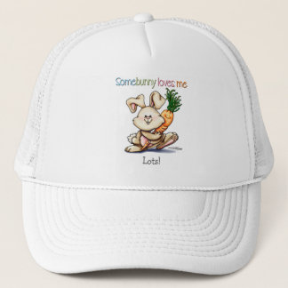 10x10-some-bunny trucker hat