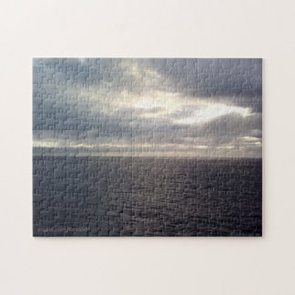 10X14 Steely Gray Waters Puzzle