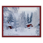10x8 Cottage Wall Art Poster