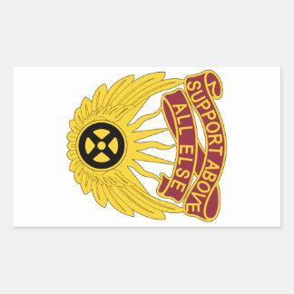 1106o Grupo de la aviación - ayuda sobre todo Pegatina Rectangular