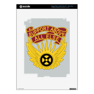 1106th Aviation Group - Support Above All Else Decals For iPad 3