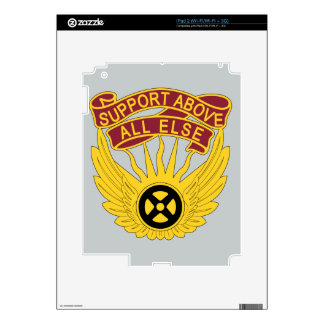 1106th Aviation Group - Support Above All Else Decals For The iPad 2