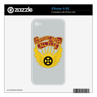1106th Aviation Group - Support Above All Else iPhone 4 Skins