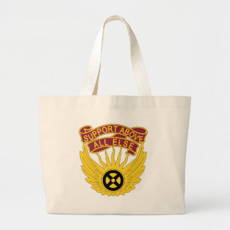 1106th Aviation Group - Support Above All Else Large Tote Bag