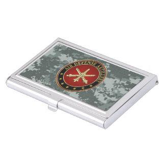 [110] Air Defense Artillery (ADA) Branch Insignia Business Card Holder