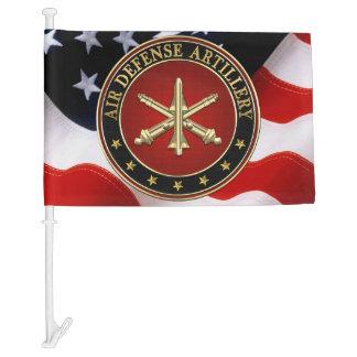 [110] Air Defense Artillery (ADA) Branch Insignia Car Flag