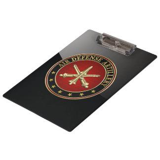 [110] Air Defense Artillery (ADA) Branch Insignia Clipboard