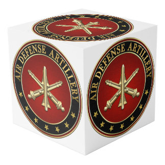 [110] Air Defense Artillery (ADA) Branch Insignia Cube