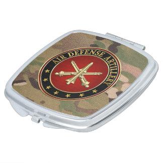 [110] Air Defense Artillery (ADA) Branch Insignia Mirror For Makeup