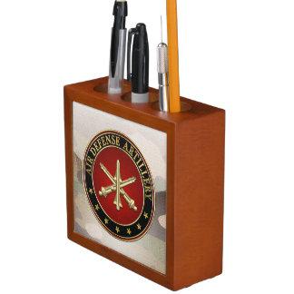 [110] Air Defense Artillery (ADA) Branch Insignia Pencil Holder