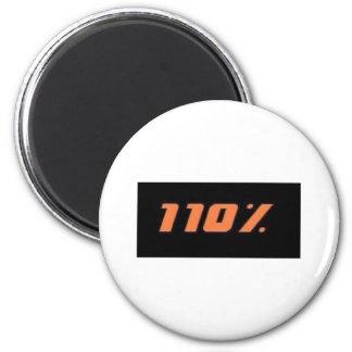 110% black 2 inch round magnet