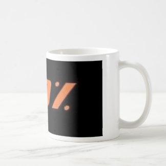 110% black classic white coffee mug