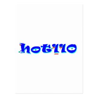 110 calientes postal