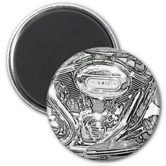110 Eagle de griterío Harley Davidson Imán De Frigorífico