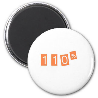 110% funny 2 inch round magnet