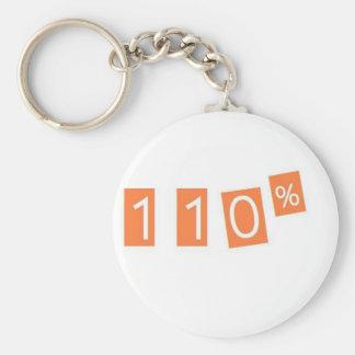110% funny basic round button keychain