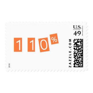 110% funny postage stamp