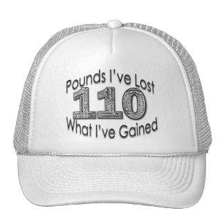 110 libras de gorra perdido