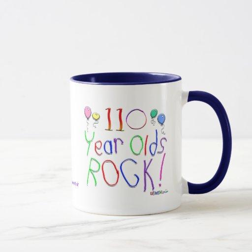 110 Year Olds Rock ! Mug
