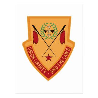 110o Militares del regimiento de caballería Tarjetas Postales