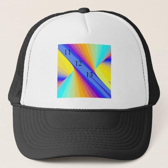 111213 Rainbow Trucker Hat 11_12_13