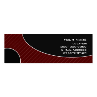 111-B Double-Sided MINI BUSINESS CARDS (Pack OF 20)