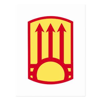 111o Brigada de la artillería de la defensa aérea Tarjeta Postal