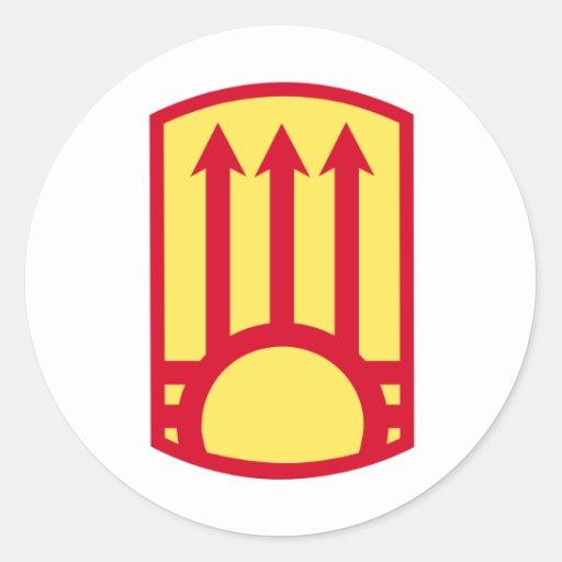 111th Air Defense Artillery Brigade Round Sticker