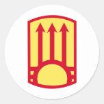 111th Air Defense Artillery Brigade Round Stickers