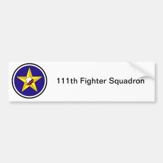 111th Fighter Squadron Bumper Sticker