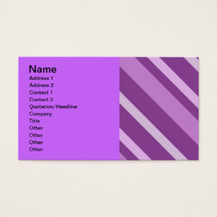 Purple stripes background business cards templates zazzle 112205 3slant stripes purples backgrounds patterns business card colourmoves