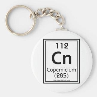112 Copemicium Basic Round Button Keychain