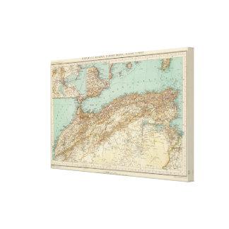112 Morocco, Algeria, Tunisia Canvas Print