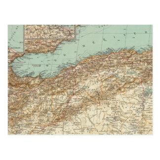 112 Morocco, Algeria, Tunisia Postcard
